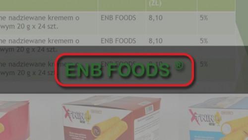 ENBFOODS - hurtownia spożywcza image