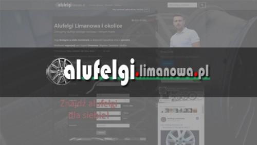 Alufelgi.limanowa.pl - wykonanie serwisu internetowego image